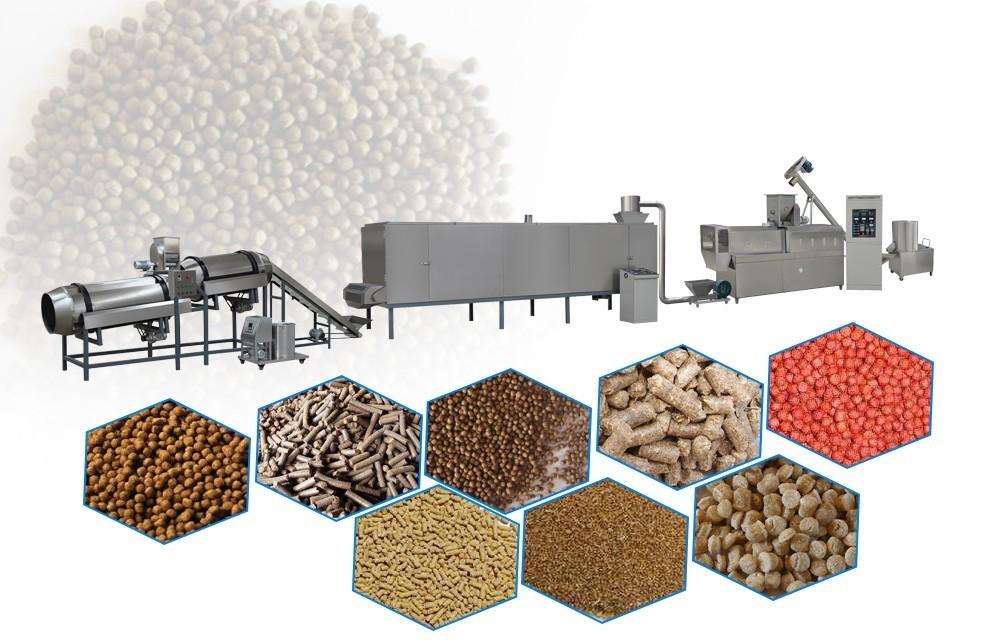 processus de fabrication d'aliments pour poissons