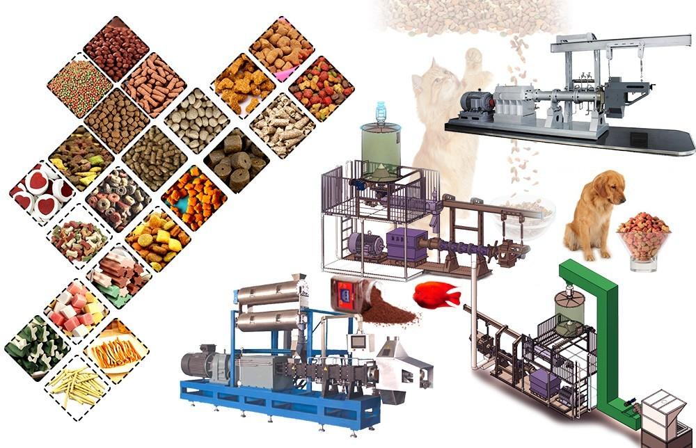 Prix de la machine à extruder les aliments pour animaux de compagnie