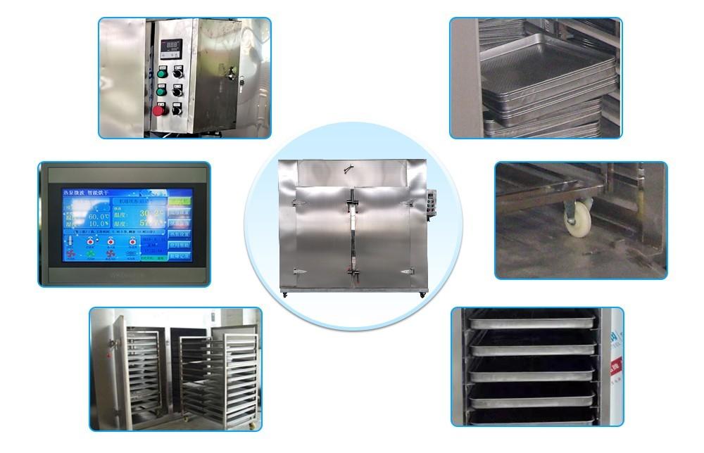 Usine de machines industrielles de séchage de légumes