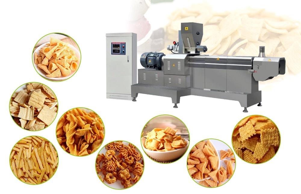 le processus de fabrication des chips de bugle frites