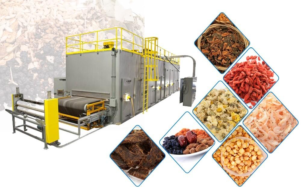 procédé industriel de séchage des fruits