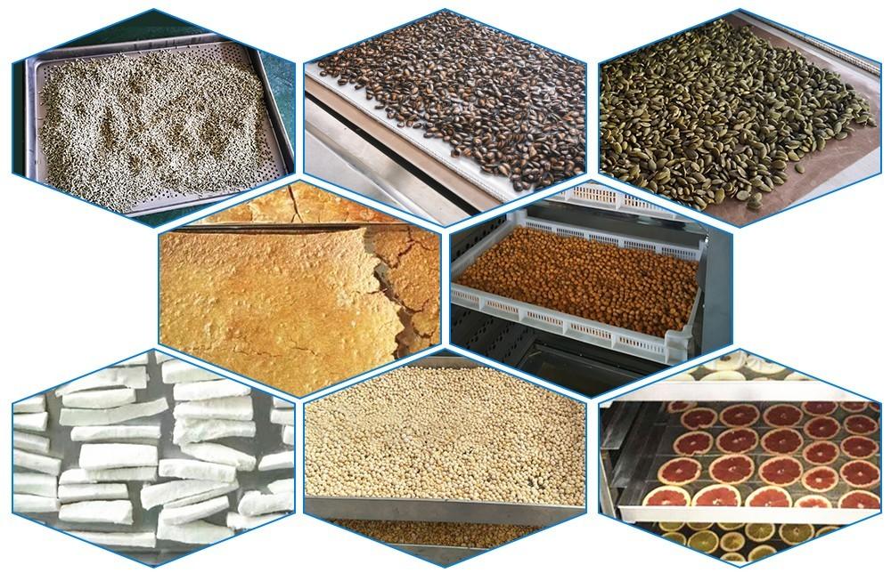 conception de machines industrielles de séchage des aliments