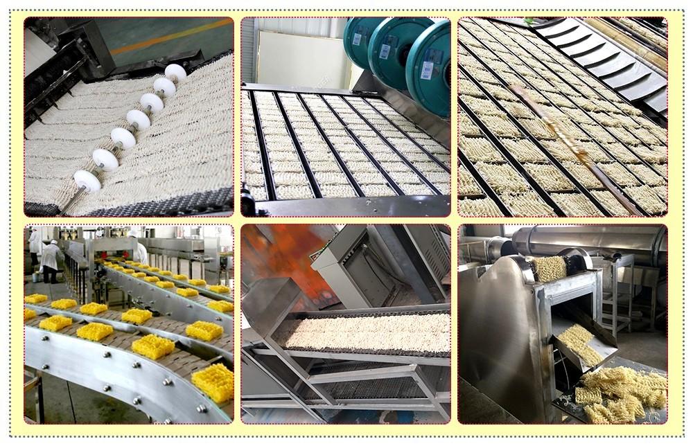 fabricant de chaînes de production de nouilles instantanées