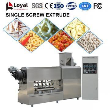 Machine de traitement des aliments extrudeuse à vis unique