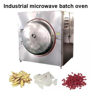 Séchoir industriel à micro-ondes sous vide