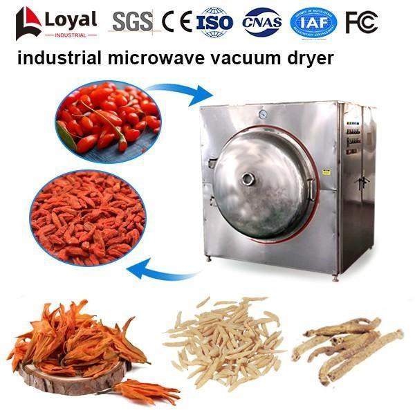 Séchoir industriel à micro-ondes sous vide #4 image